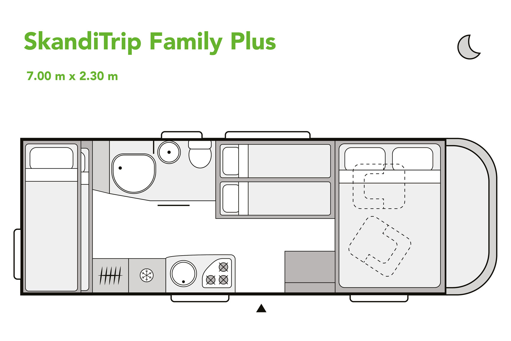 SkandiTrip family plus motorhome daytime blueprint