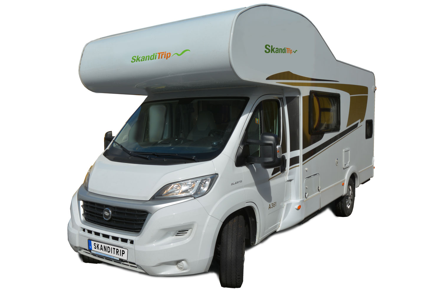 SkandiTrip family motorhome model